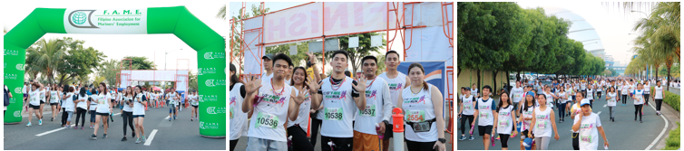Crossworld joins 13th FAME fun run 2019