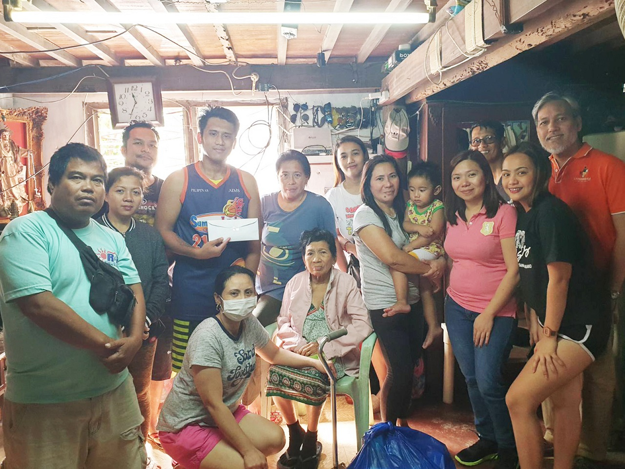 Crossworld Charity Donates to Taal Victims