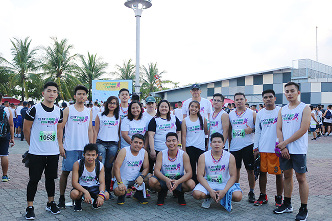 Crossworld joins FAME Fun Run