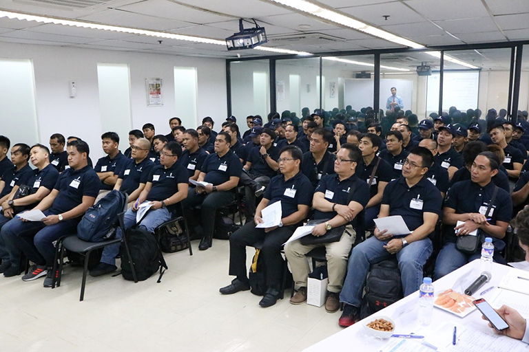 AIMS SHIPPING HOLDS SAFETY CONFERENCE
